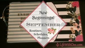 New Beginnings ~ September