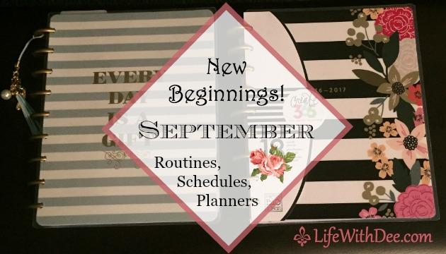 New Beginnings ~ September