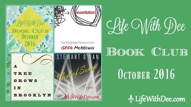 LWD Book Club October