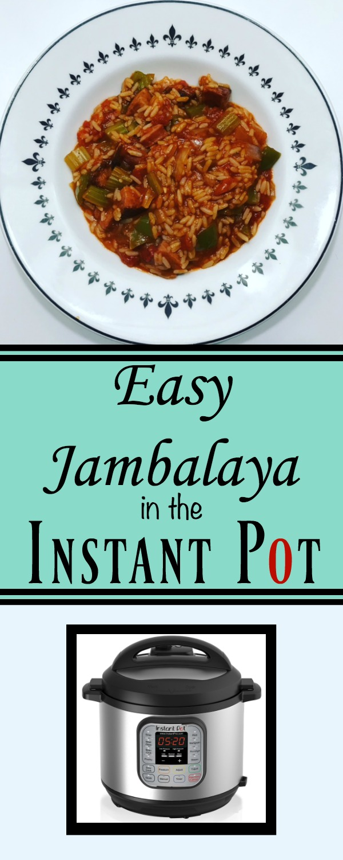 Easy Jambalaya Instant Pot