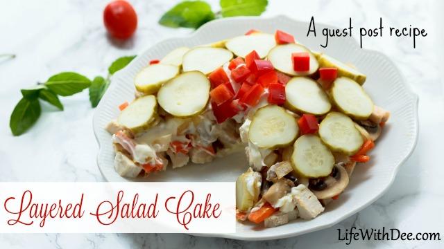 Layered Salad Cake