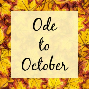 Ode to October Spotify cover pic