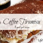 Coffee Tiramisu ~ Guest Post Recipe