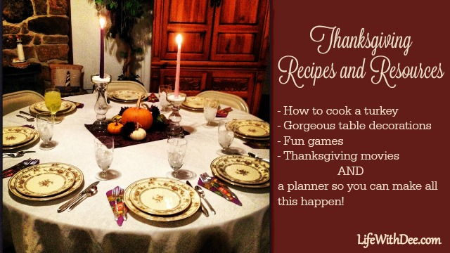 Thanksgiving Recipes and Resources