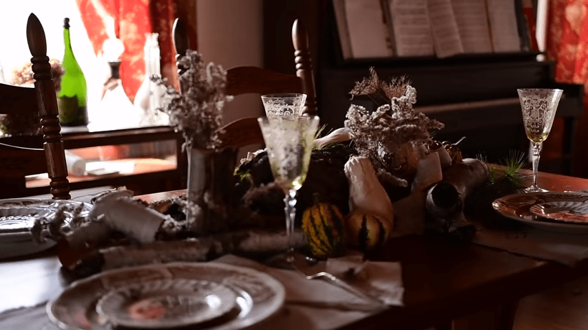 Thanksgiving Table decor video screenshot