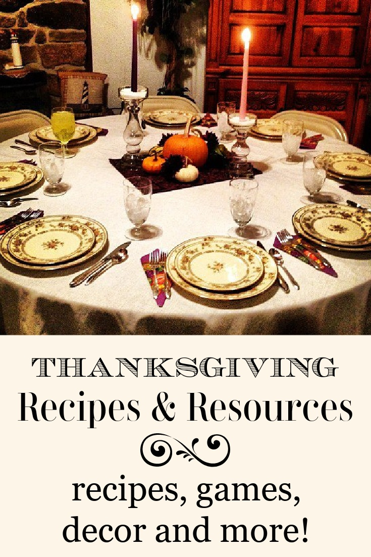 Thanksgiving resources graphic