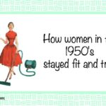 How Women in the 1950s Stayed Fit and Trim