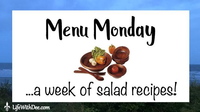 Menu Monday Salad Recipes