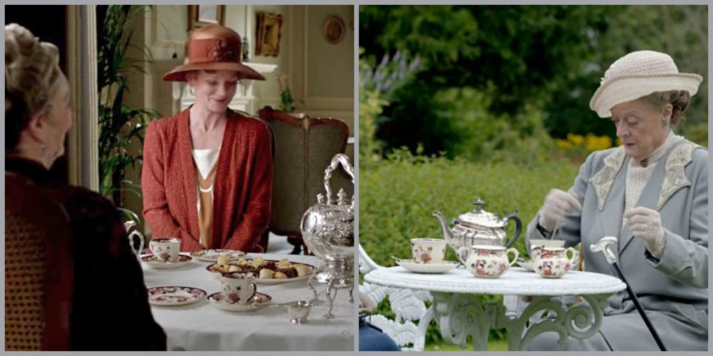 Downton Abbey ~ afternoon tea