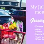 A Monthly Grocery Haul ~ July 2017