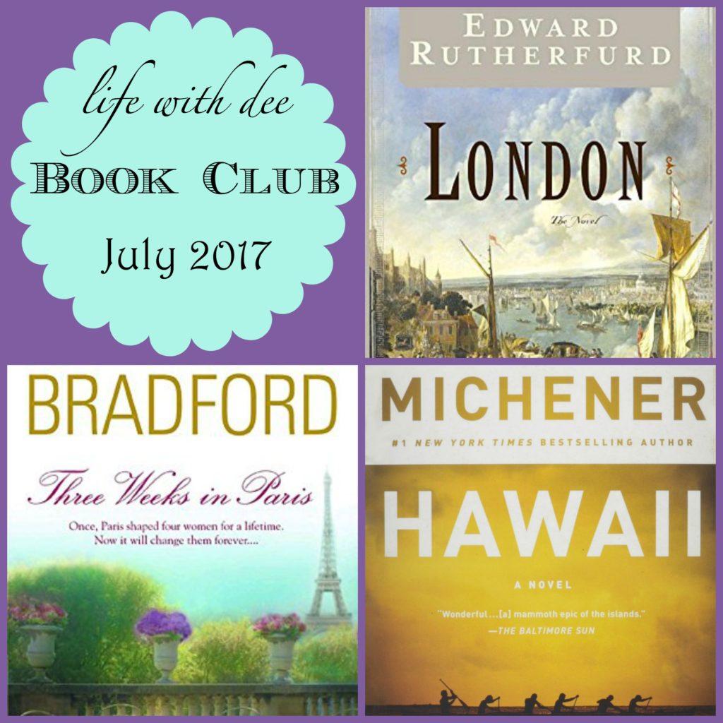 LWD Book Club July 2017
