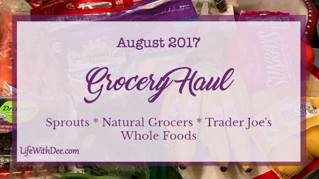 August 2017 Grocery Haul