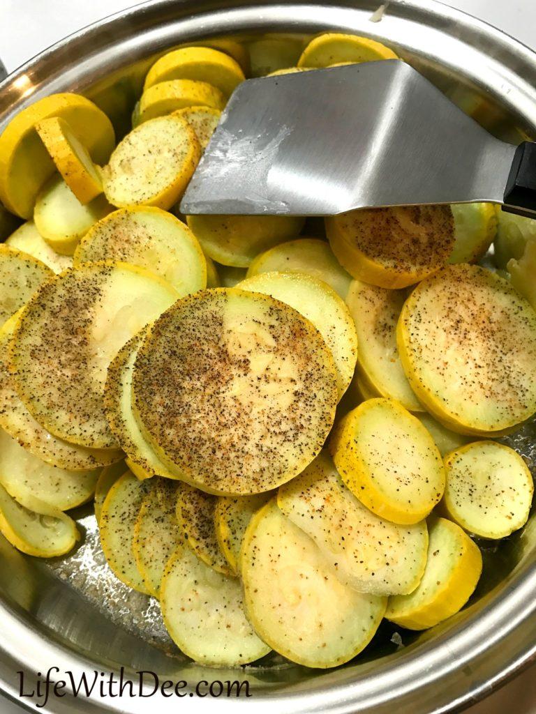 Squash casserole