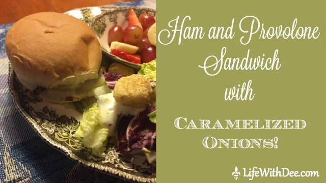 Ham and Provolone Sandwich