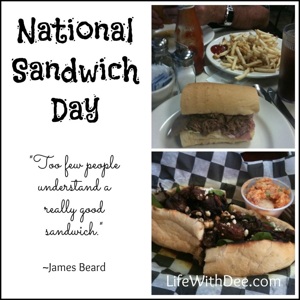 National Sandwich Day 2015