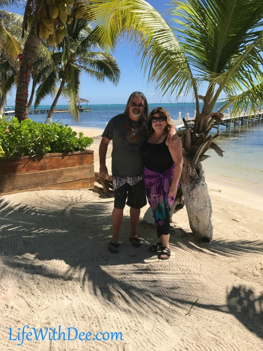 David and Deanna in Belize