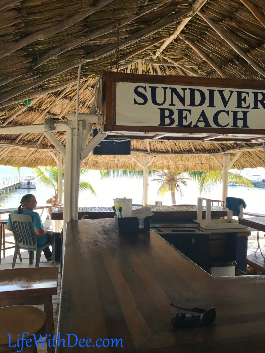 the bar in Belize
