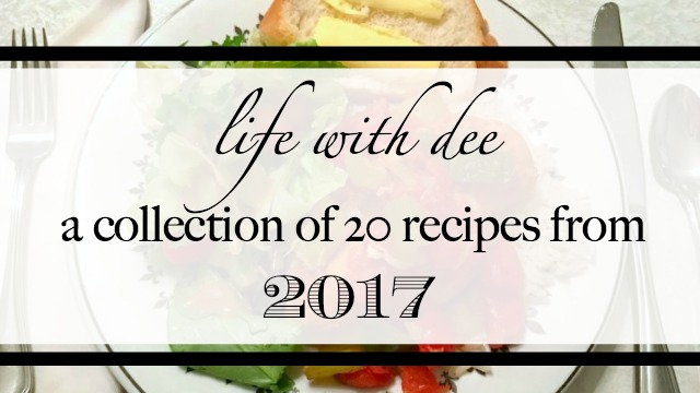20 Recipes from 2017