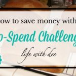 How to Save Money With a No-Spend Challenge