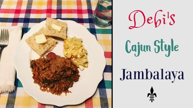 Debi's jambalaya