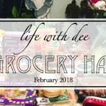 A Grocery Haul ~ February 2018