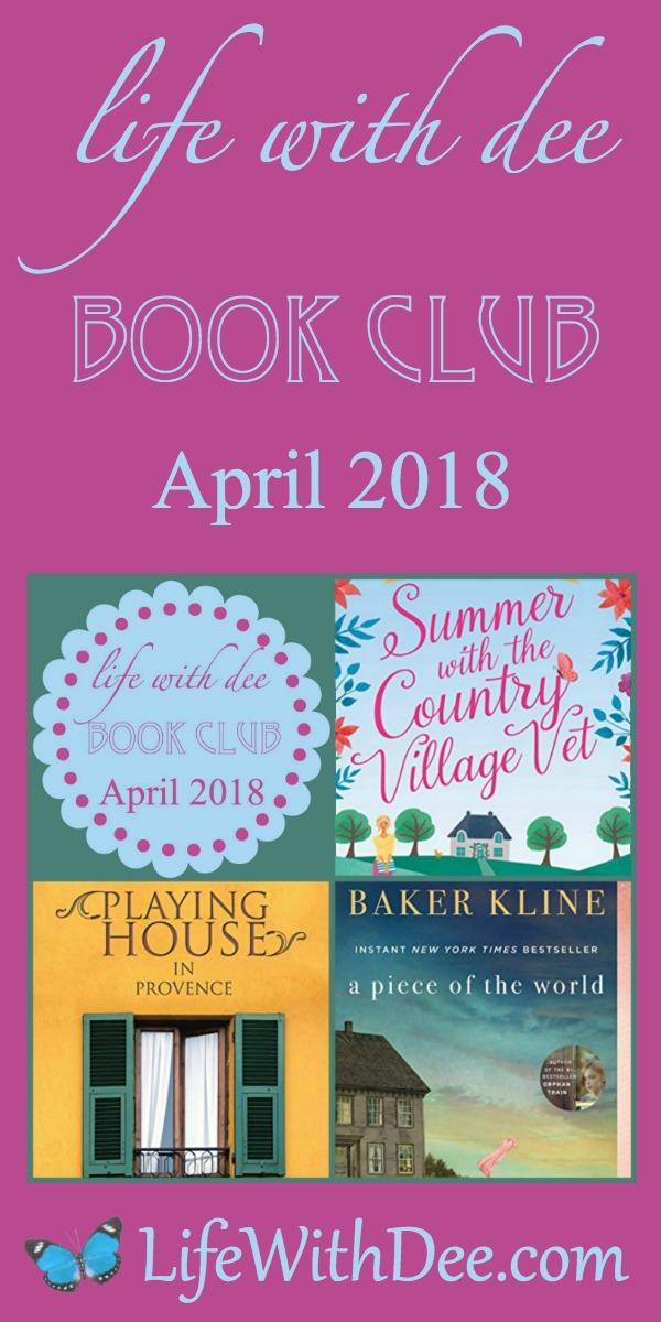 LWD Book Club April 2018