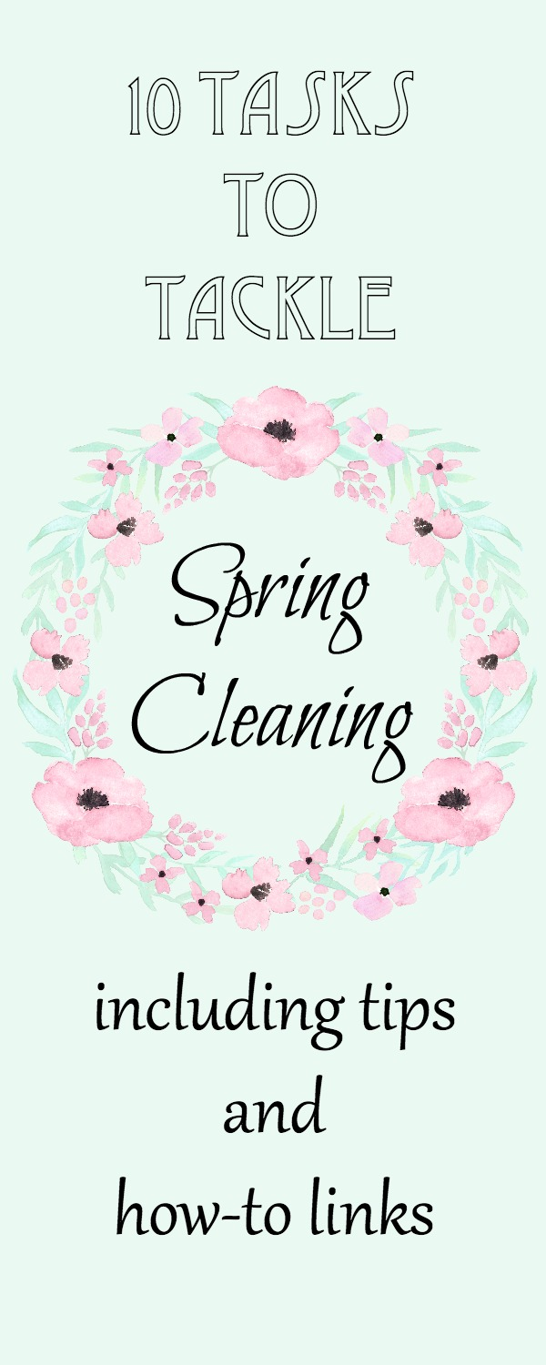 Spring Cleaning 10 Tasks