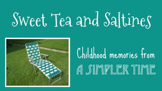 Sweet Tea and Saltines