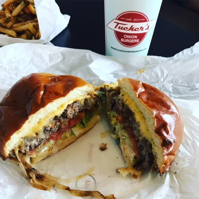 Tucker's burger