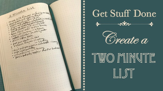 Two Minute List