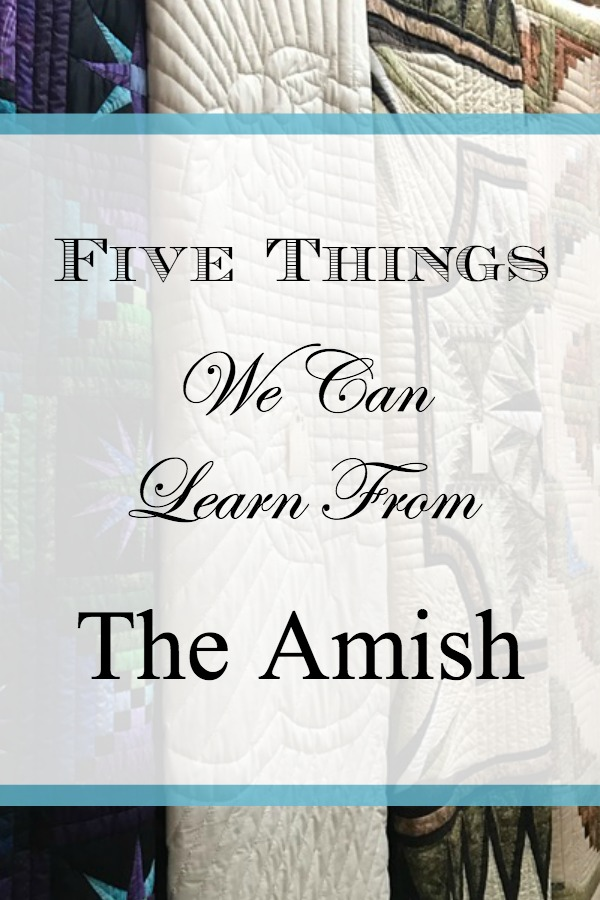 5 Things We Can Learn From the Amish