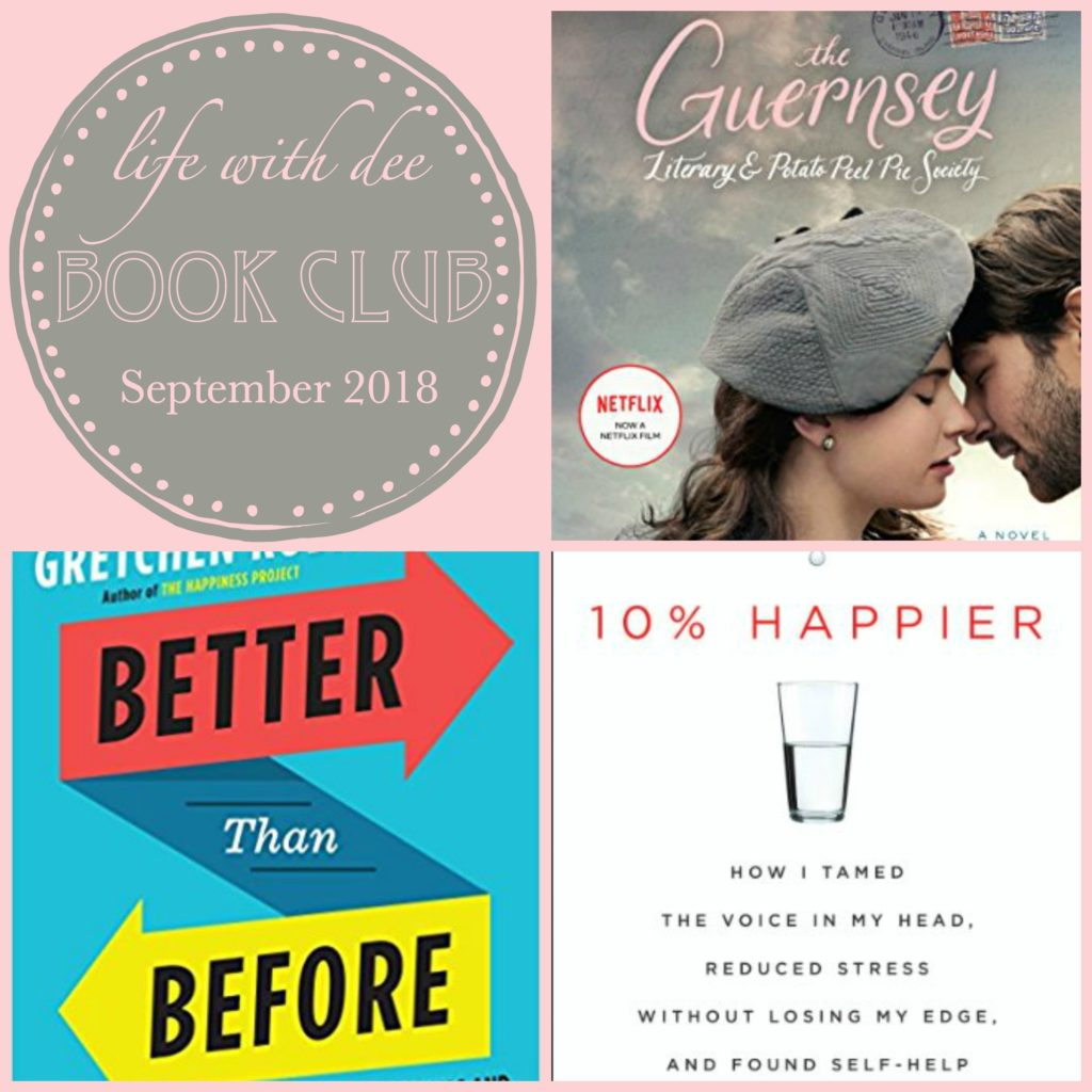 LWD Book Club Sept. 2018