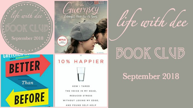 LWD Book Club September 2018