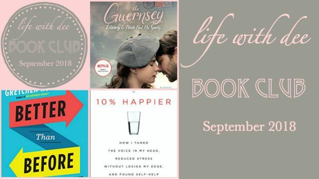 LWD Book Club September 2018