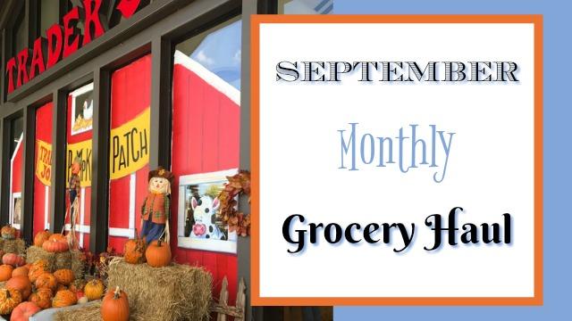 Sept. grocery haul