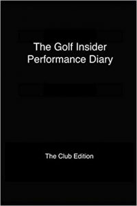 Golf performance diary