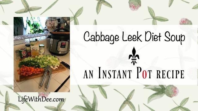 Cabbage Leek Diet Soup