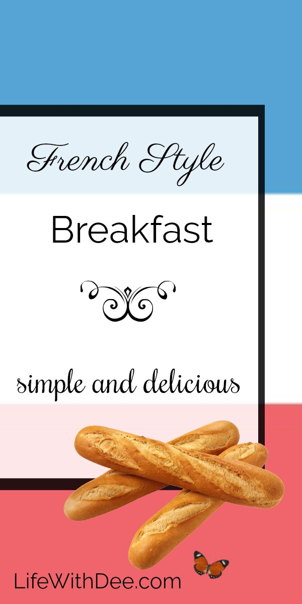 French style breakfast
