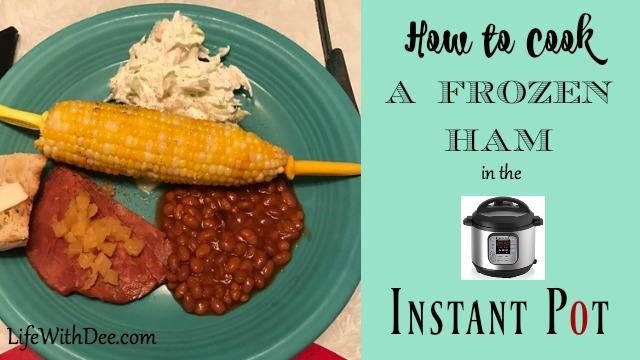 How to cook frozen ham in IP