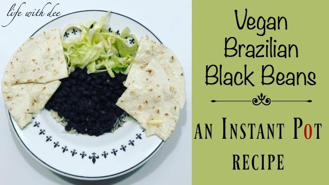 Vegan Brazilian Black Beans