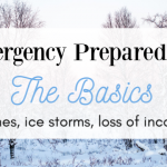 Emergency Preparedness – The Basics