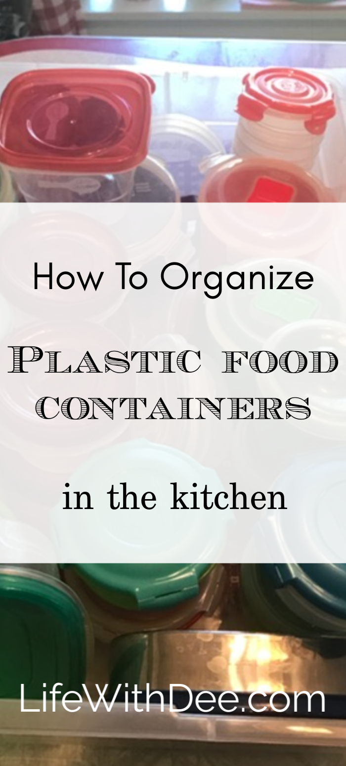 plastic storage organization