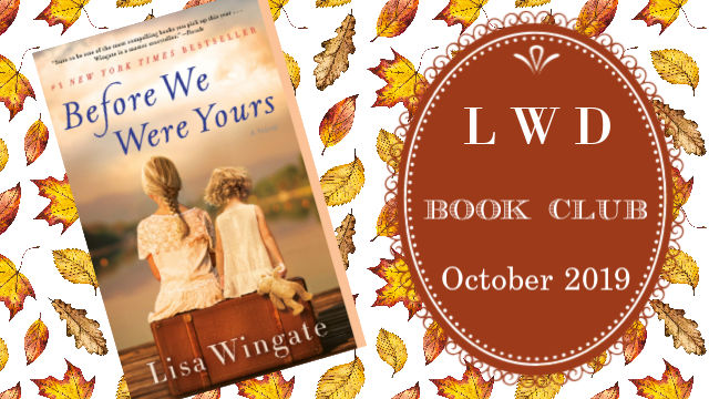 LWD Book Club October 2019