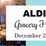 Aldi Grocery Haul ~ December 2019