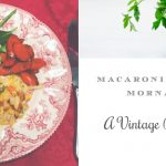 Macaroni Tuna Mornay ~ Vintage Recipe