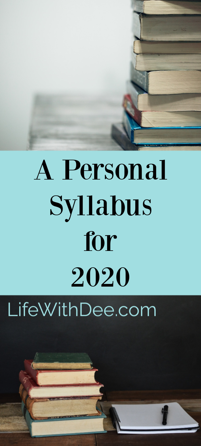 A Personal Syllabus