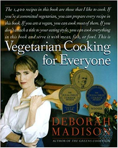 Vegetarian Cooking for Everyone cookbook cover