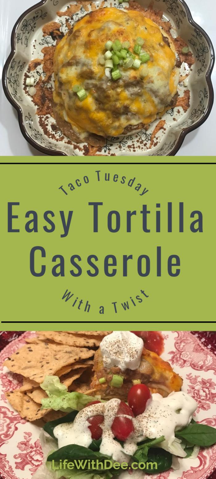 Tortilla Caserole