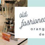 Old Fashioned Orange Jello Dessert