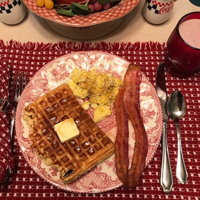 What's For Dinner - Waffles